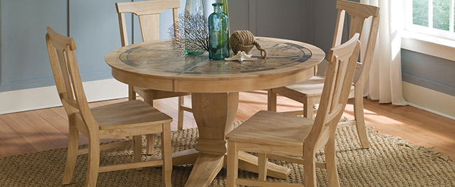 Pale Nautical Dining Set
