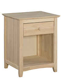 Nightstand - Blond Wood