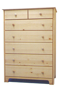 Chest of Drawers - 2x5 Tall