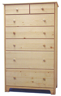 Chest of Drawers - 2x5 Extra Tall
