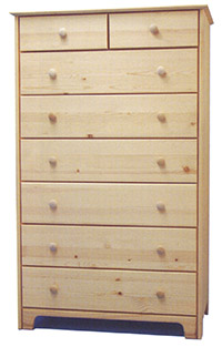 Chest of Drawers - 2x6 Extra Tall